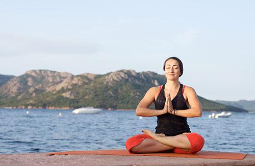 Yoga en Corse, Cala Rossa